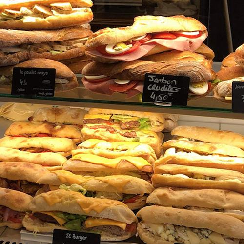 Sandwichs froids & Wraps
